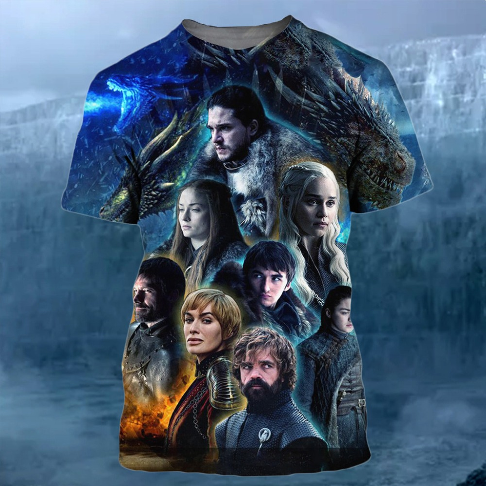 Have An Inquiring Mind Plstar Cosmos Game Of Thrones Targaryen Fire & Blood Tees 3d Print T Shirt/hoodie/sweatshirt/jacket Men Women Newest Streetwear Removing Obstruction Men's Clothing