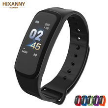 Smart Bracelet Color Screen Blood Pressure Fitness Tracker Heart Rate Monitor Smart Band Sport for Android IOS Men Women 2018 p3 smart wristband bracelet color screen blood pressure fitness tracker heart rate monitor smart band sport for android ios