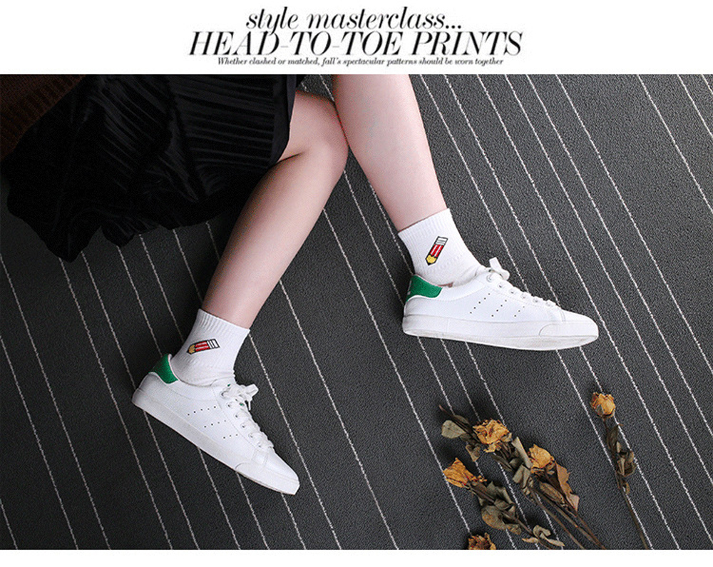 Dashing 1 Pair High Quality Cute Japanese Style Fruits Cherry Banana Peach Design Women Girls Socks Casual Cotton Street Fashion Socks Underwear & Sleepwears
