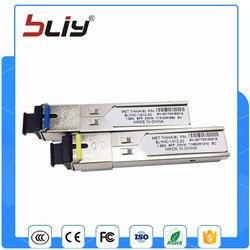 10pcs/combo 1.25G gigabit SC connector 20KM single mode single fiber mini gbic sfp optical module