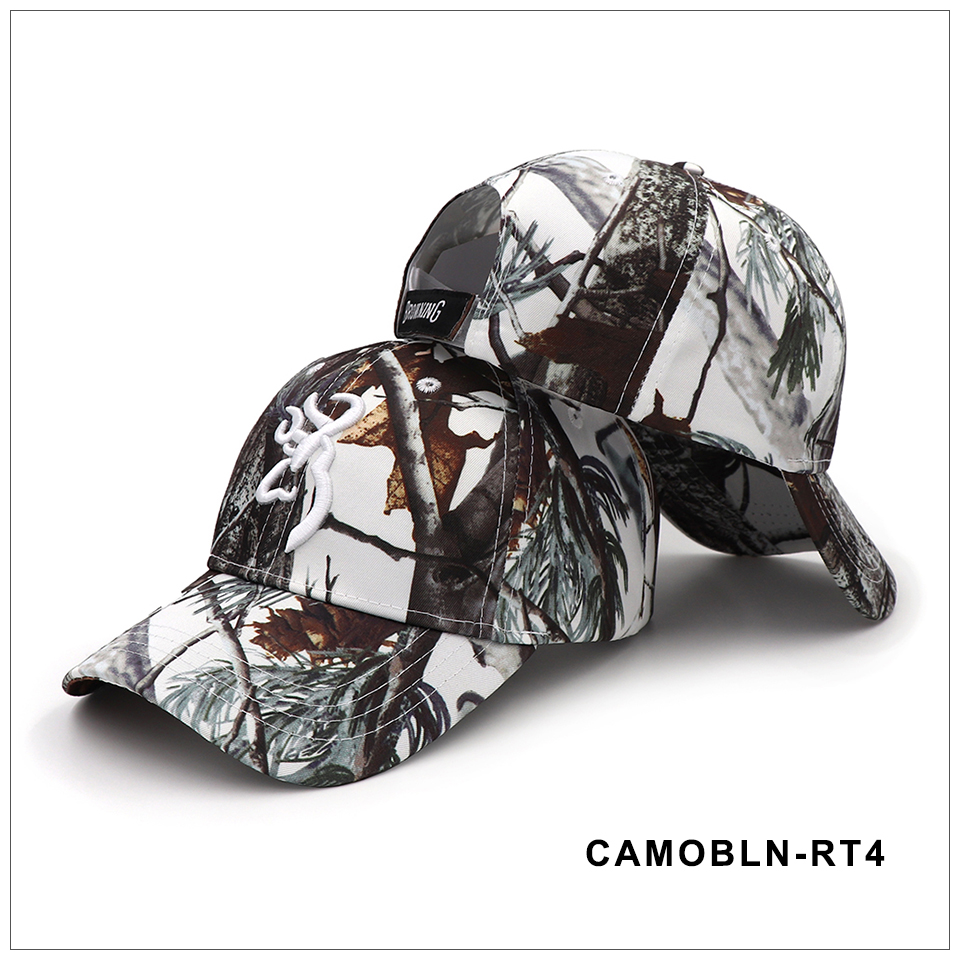 CAPSHOP 2020 New Camo Baseball Cap Fishing Caps Men Outdoor Hunting Camouflage Jungle Hat Airsoft Tactical Hiking Casquette Hats 4