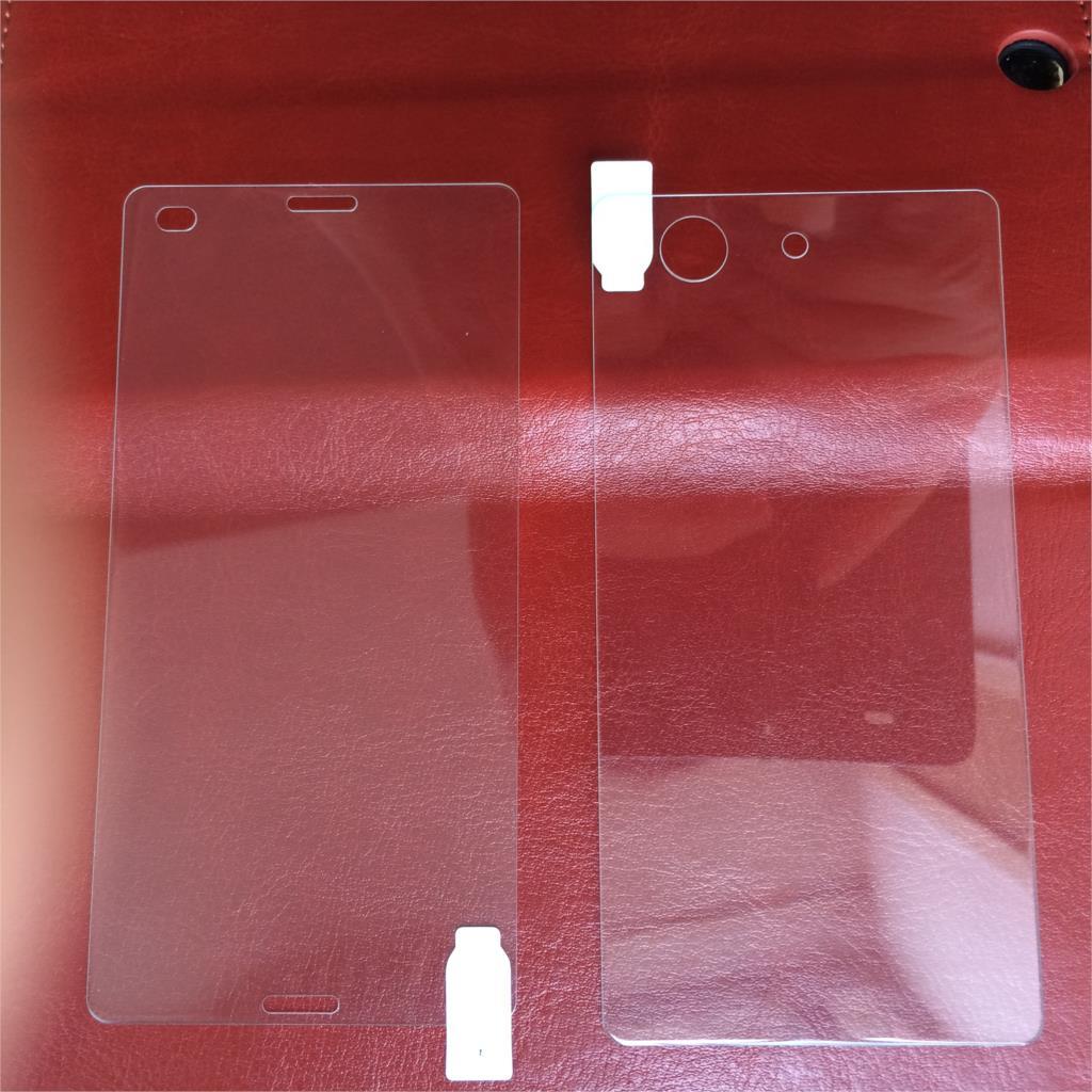 2st * (fram + bak) för Xperia Z3 mini Unitech 9H 0.2mm - Reservdelar och tillbehör för mobiltelefoner - Foto 5