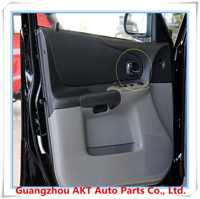 4 stks binnen deurgreep voor mazda 323 95 03 auto deurklink auto interieur handvat grijs