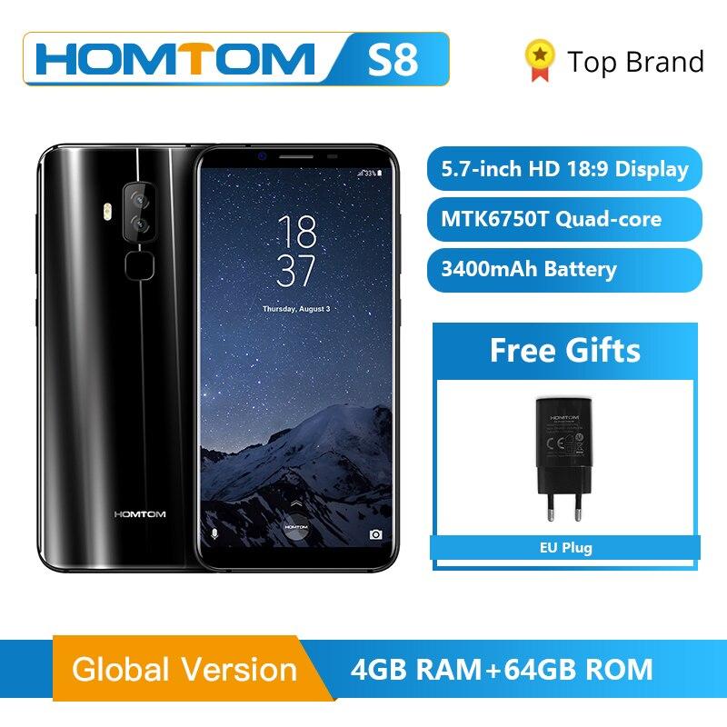 Original HOMTOM S8 Smartphone 4G 5.7