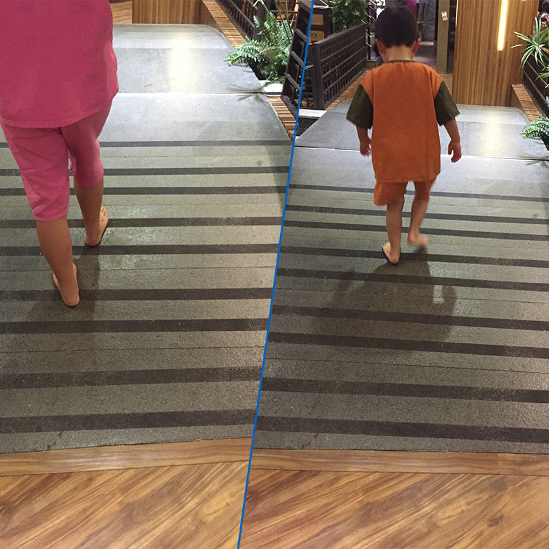 5m/roll Household Stair Treads Sticker Tape Bathroom Ceramic Tile Anti Slip  Stripe PEVA High Grip Sticky Backed Safety Floor In Mat From Home U0026 Garden  On ...