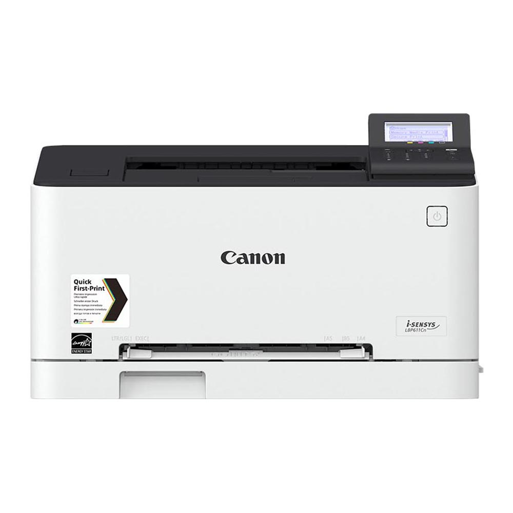 Printer Canon i-SENSYS LBP611Cn Computer & Office Office Electronics Printers ma300ymcko full color ribbon 300 prints for magicard enduro card printers printer part card printer ribbon