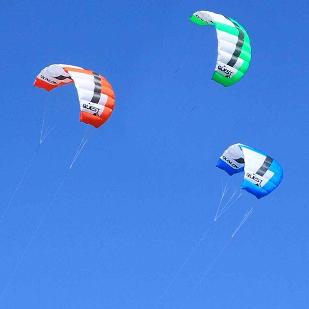 Dual Line Power Kite 2 metros cuadrados Easy Flying Traction Kite - Deportes y aire libre - foto 2