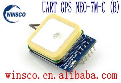 2pcs lot UART GPS NEO 7M C B 100 NEW GPS module NEO 7M C B