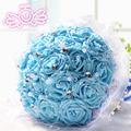 cheap flowers blue bride bouquet Cartoon bouquet of wedding gift Wedding gifts agent wholesale D194
