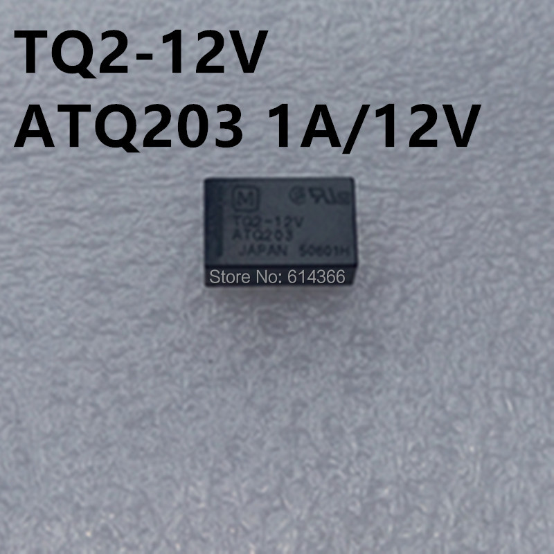 5PCS ORIGINAL TQ2-12V ATQ203 Panasonic Relay 10PINS