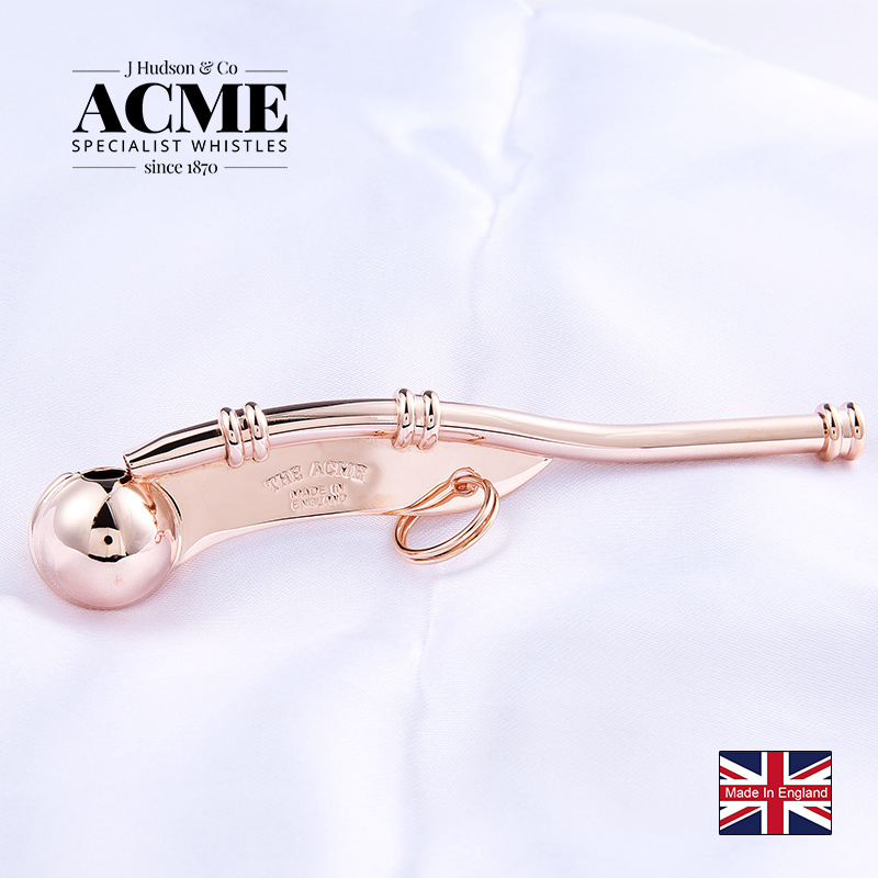 ACME Boatswain Pipe Classic Marine Sailor Communication Metal Whistle Soundtrack Whistle