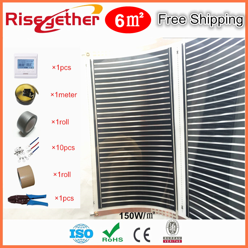 Galaxy Floor Heating System Under Tile Heating Film Ceramic Marble