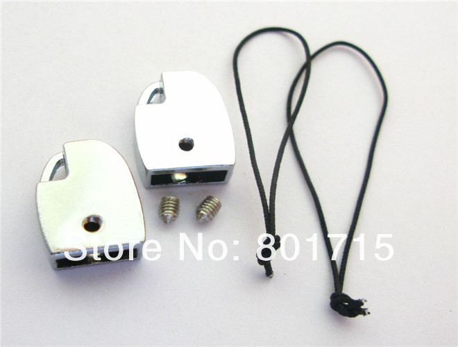 as gift wholesale 50pcs D Head Clasp zinc alloy Internal Dia.:10mm(Fit 10mm band)DIY Charms Fittings Accessory