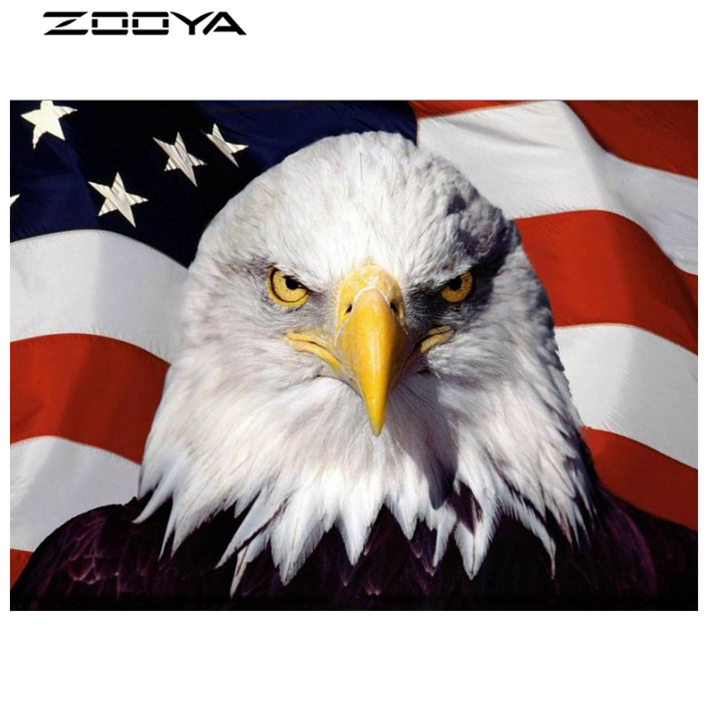 ZOOYA DIY 3D Diamond Painting Embroidery Cross Stitch Kits