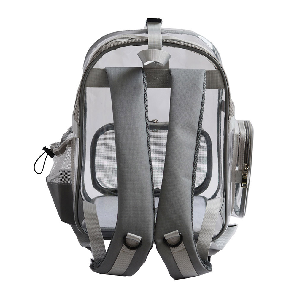 Offre spéciale Transparent Pet chat transporteur sac chien chiot respirant confort voyage épaule Portable sac à dos