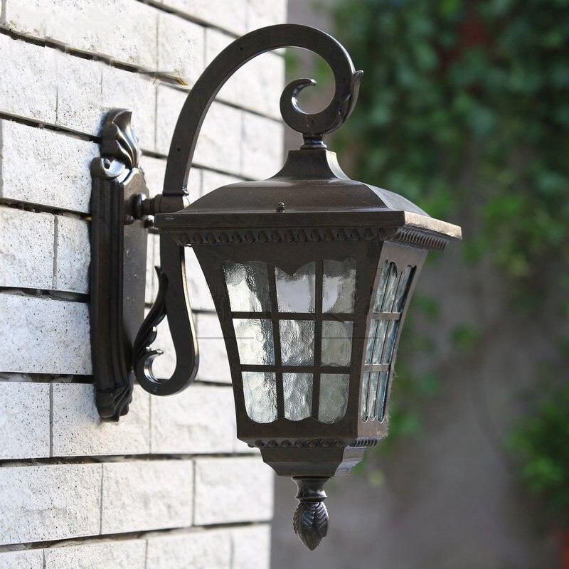 Здесь продается  Wall Light Outdoor Wall Vintage Lamp Waterproof Retro Bracelet Outside Luminaire Bulb Mount E27 Lamps 220V   Свет и освещение