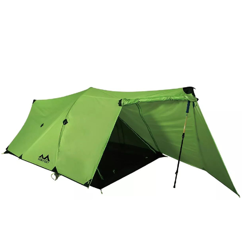 HIMAGET 2 Person Hiking Tents Outdoor Camping 20D Silicon Coated Fabric Hunting Fishing Beach Tent Ultralight Waterproof hillman 1 person ultralight 20d silicon coated aluminum rod hking cycling mountaineering beach fishing outdoor camping tent