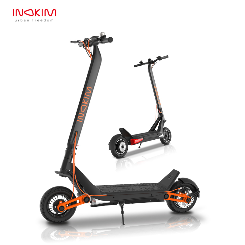 Newest Inokim OX electric scooter High Speed dual motor 60V 1300W off raod e scooter 45km/h instead of walking scooter
