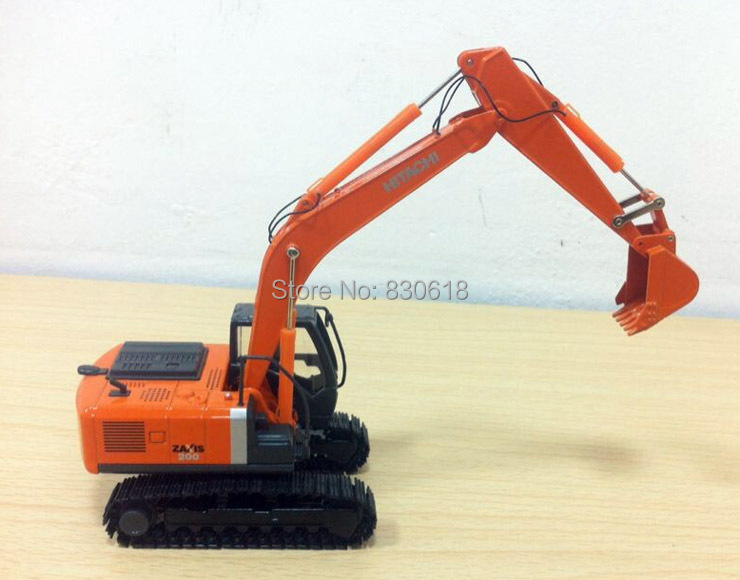 Toys & Hobbies New Hitachi 1:50 Hitachi Zaxis Zh200 Excavator W/ Metal Tracks Construction Vehicles