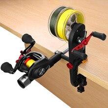 Plusinno Fishing Line Spooler Fishing Gear Multifunction Baitcasting Reel Spooler Fishing Line Winder
