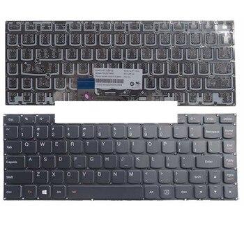 แป้นพิมพ์ใหม่สำหรับ Lenovo สำหรับ IdeaPad สำหรับ YOGA 2 13 สำหรับ YOGA 2 13 U31 E31-80 E31-70 500S-13ISK 700-1US แล็ปท็อปแป้นพิมพ์ไม่มี ...