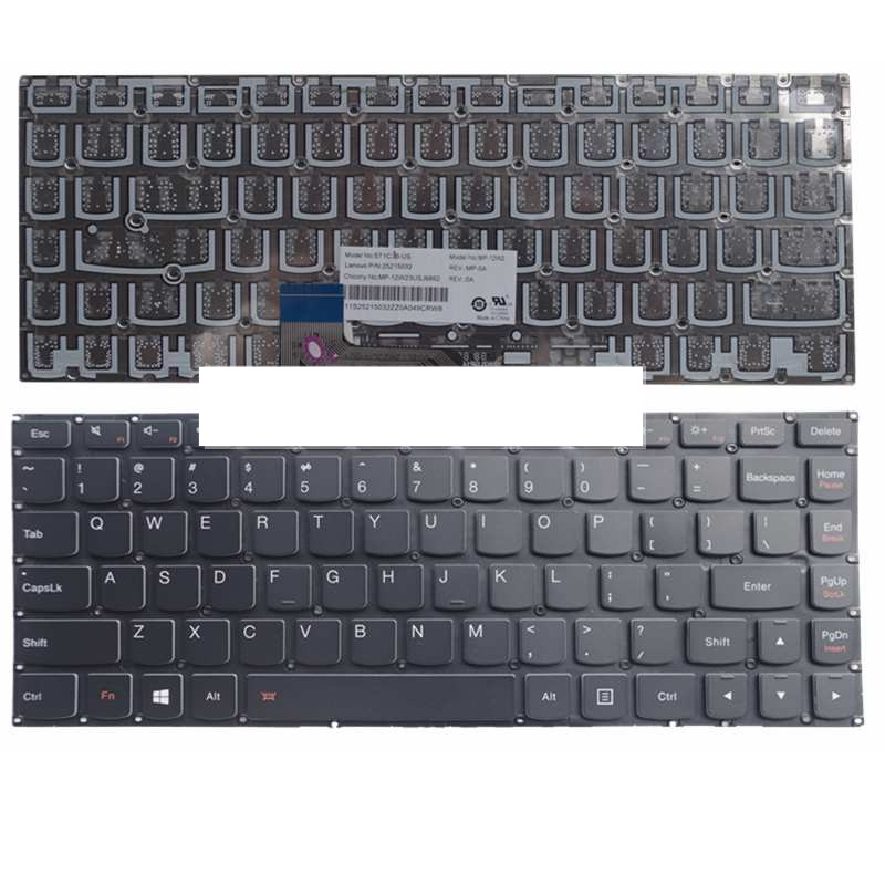 NEW Keyboard For Lenovo For Ideapad For Yoga2 13 For Yoga 2 13 U31 E31-80 E31-70 500S-13ISK 700-1US Laptop Keyboard No Backlight