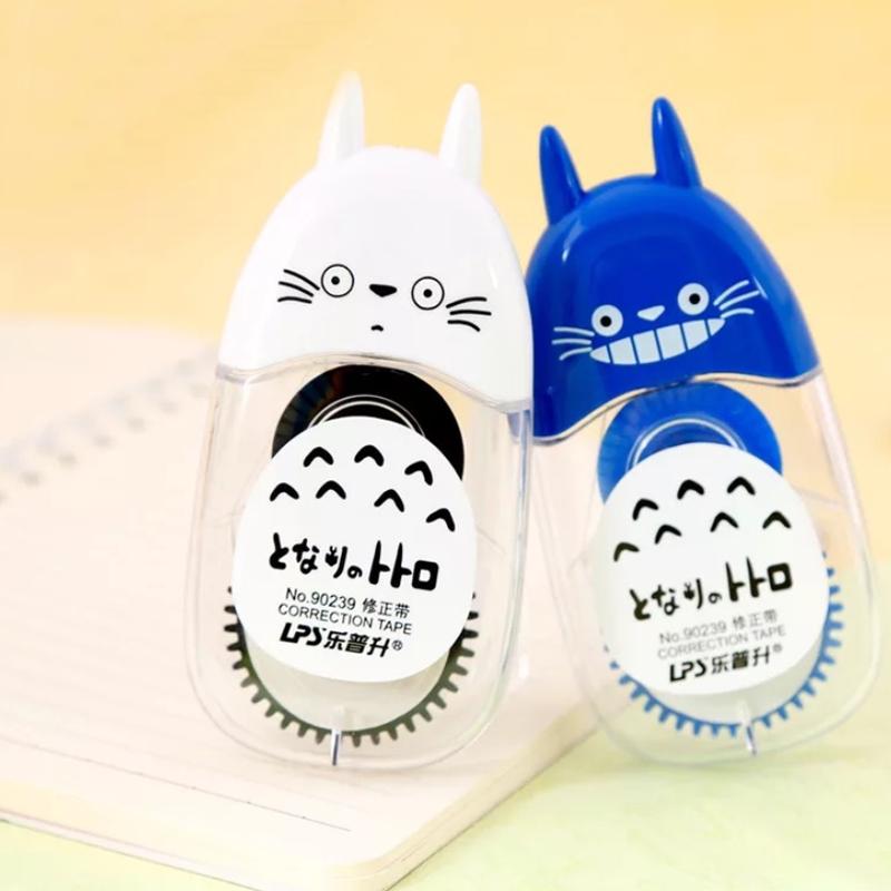 1 Pcs Hot Sale Animal Kawaii Totoro Correction Tape 12m Length Novelty School Supplies Student Stationery