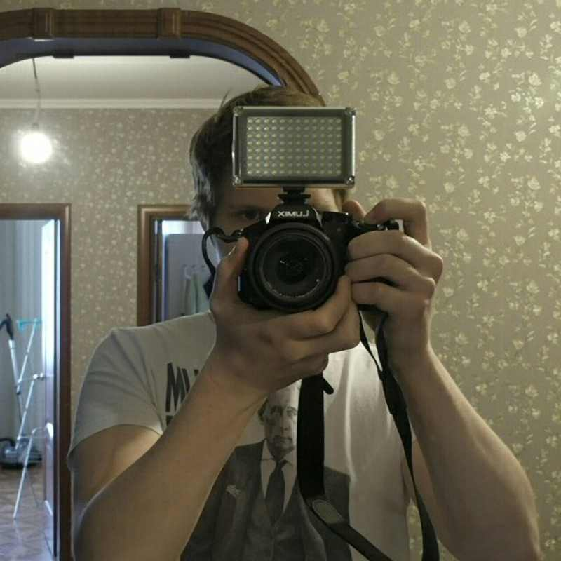Ulanzi LED video rasvjeta foto rasvjeta na kameru Hot cipela - Kamera i foto - Foto 5