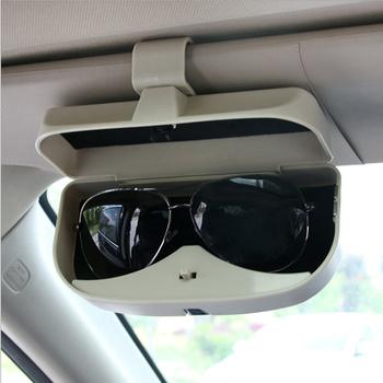 Nowy produkt szkło samochodowe pudełko na okulary Case dla Opel Astra Corsa Insignia Astra Antara Meriva Zafira Corsa Vectra sport GTC tanie i dobre opinie CN (pochodzenie) Glasses Case 0 18kg YJHBox09 17cm abs plastic Okulary przypadku