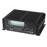Встраеваемый промышленный ПК intel P8600 процессор 2 * LAN & RS485 прочный промышленный компьютер безвентиляторный мини ПК