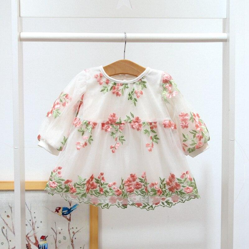 Newborn Infant Dresses 2018 Spring Summer Cotton Baby Dress Toddler Girls Clothes For 1st Birthday Dress Kids Costume vestidos