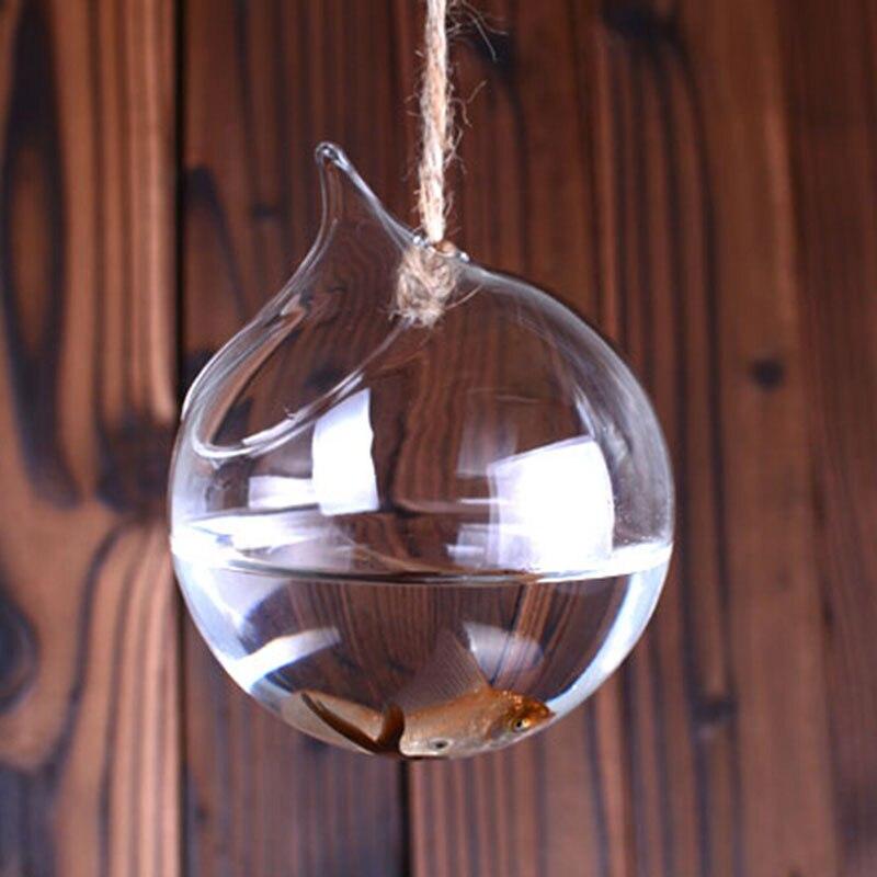 Modern Glass Vases Home Decoration Cheap Crystal Vases Aquarium Fish