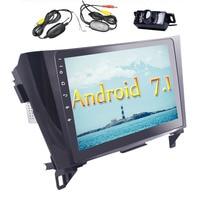 Беспроводной сзади Камера прилагаются! Стерео для nissan Android 7,1 4 ядра в тире автомобиль Радио головного устройства Поддержка gps СБ Navi WI FI