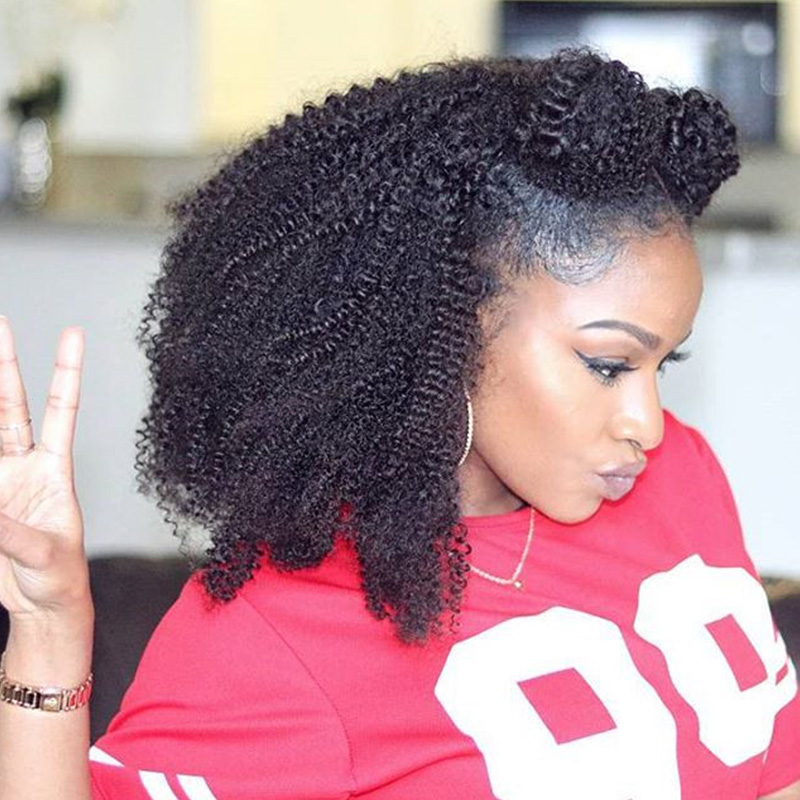 Cheveux naturels kinky