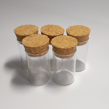 10ml Small glass tube clear little bottle with cork empty diy corked vials Drift wishing 24*40mm 30pcs/lot