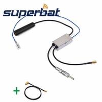 Superbat DAB Car Radio Antenna FM AM To DAB FM AM Aerial Converter Splitter And SMA