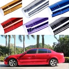 Car Sticker Modification 152*30cm Plating Mirror Film Body Color Bright Mask Vinyl Packaging