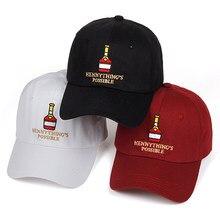 Estructurado el rapero hennythings posible papá sombrero ajustable gorra de béisbol  hip hop snapback golf cap mujeres hombres go. e6f63ffef666