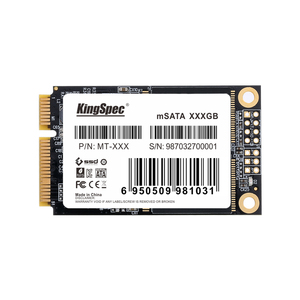 Image 1 - KingSpec mSATA SATA3 2tb SSD 1TB Mini SATA Festplatte Disk SSD Solid State Drive Modul Für HP aser