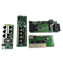 OEM  quality mini Motherboard price 5 port switch module manufaturer company PCB board 5 ports ethernet network switches module