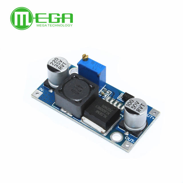 New  100pcs/lot XL6009 DC DC Booster module Power supply module output is adjustable Super LM2577 step up module