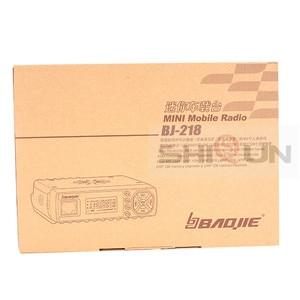 Image 5 - 25W mobilne samochodowe walkie talkie BJ 218 z anteną SG M507 Z218 UHF VHF dwuzakresowy Mini Radio samochodowe 10 KM Baojie BJ 218 daleki zasięg