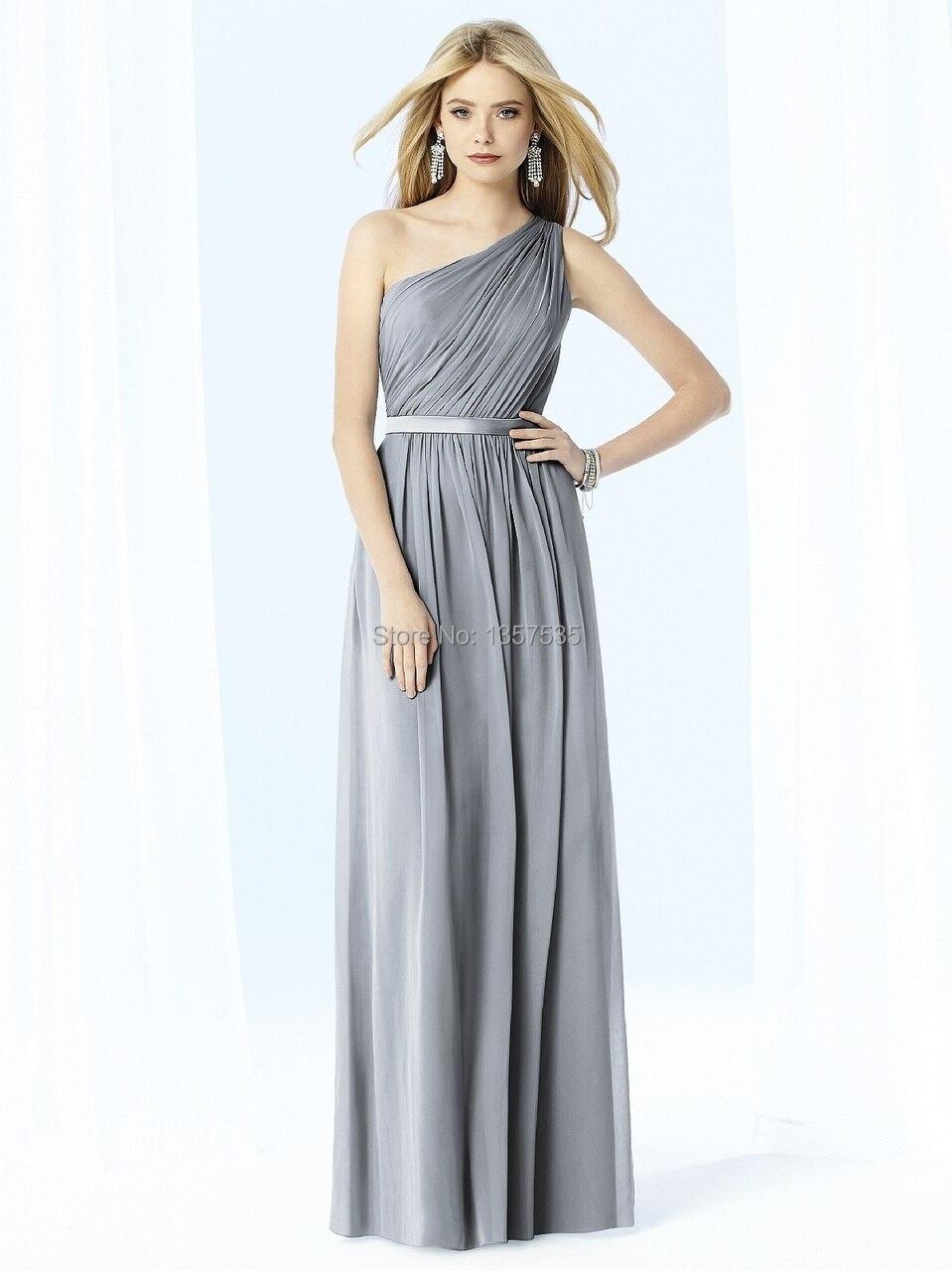 Silver chiffon long bridesmaid dresses fashion dresses silver chiffon long bridesmaid dresses ombrellifo Image collections