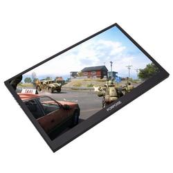 17.3 Pollici Super-Ultra Portatile Monitor 1920*1080 P IPS Schermo di Visualizzazione USB con Supporto Pieghevole Per HDMI PS3 PS4 XBOX 360 per il PC