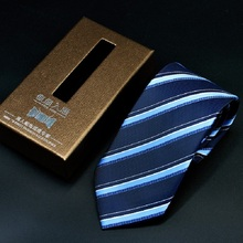 Polyester Necktie Ties For Men Wedding Formal Classic Solid Color Polka Dot Stripped 7cm Tie