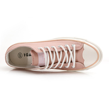 Spring Fashion Trend Zapatillas Deportivas Mujer Girls Lady Pink Shoes Casual White Shoes Size 35-39