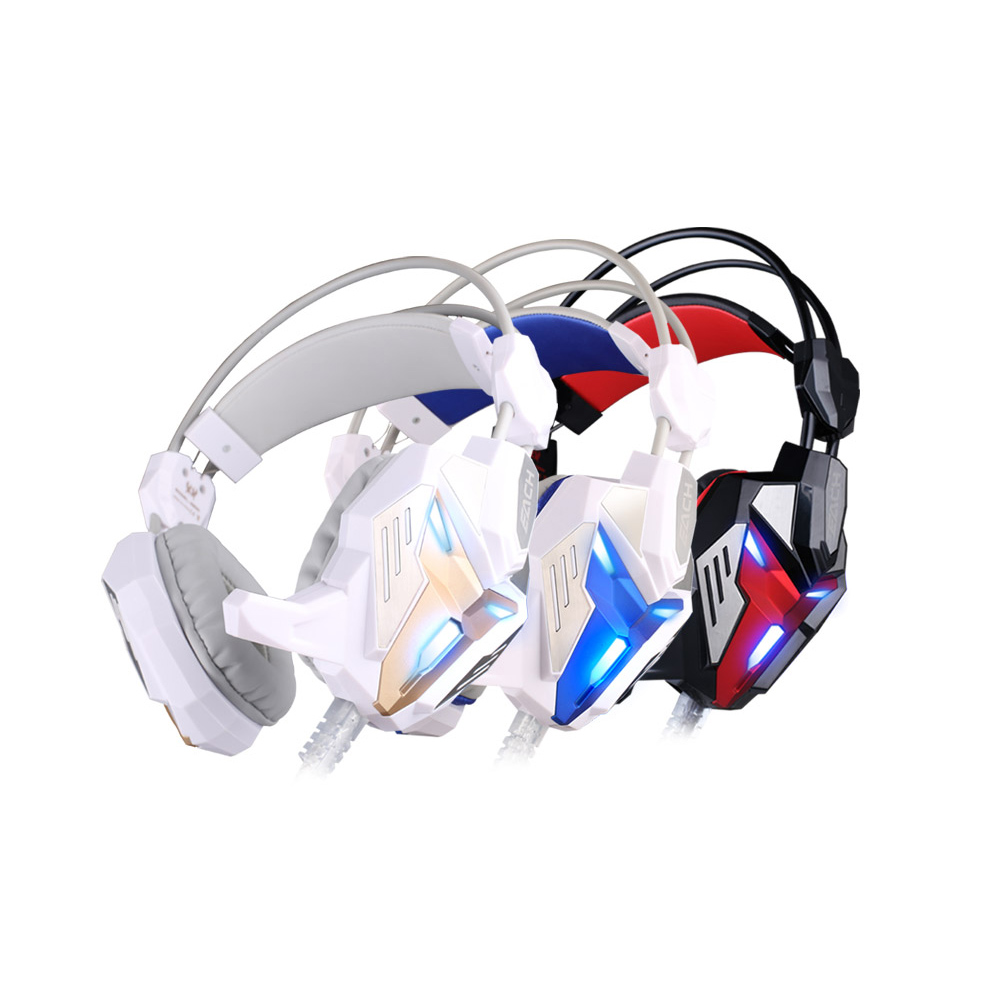EACH G3100 Transformers version Gaming Headset Computer game Headphone with Mic LED Light Vibration Function for PC gamer each g3100 vibration function pro gaming headphone games headset with mic stereo bass led light for pc gamer blue