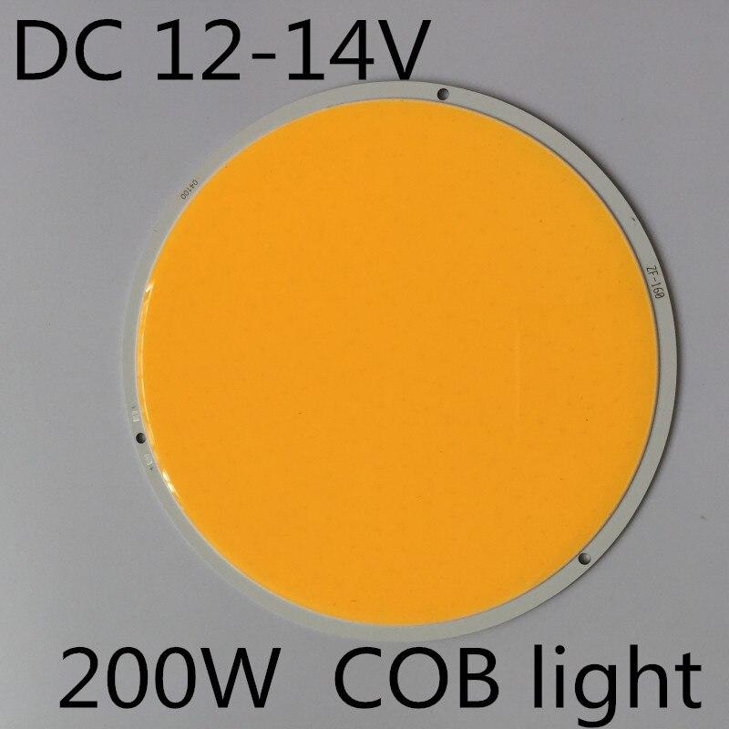 LED High Bright COB Rotonda Diametro 160mm DC12V 200 W Bianco per lampada Bead Chip FAI DA TE casa di illuminazione Ultra Luminoso 12 v 200 w led rotondoLED High Bright COB Rotonda Diametro 160mm DC12V 200 W Bianco per lampada Bead Chip FAI DA TE casa di illuminazione Ultra Luminoso 12 v 200 w led rotondo