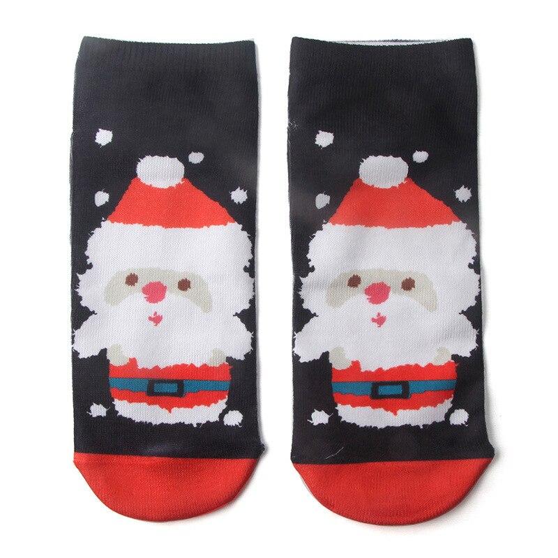 Hot Sale 6Pcs/1lot Kids Christmas Socks Santa Claus Snowman Cartoon ...