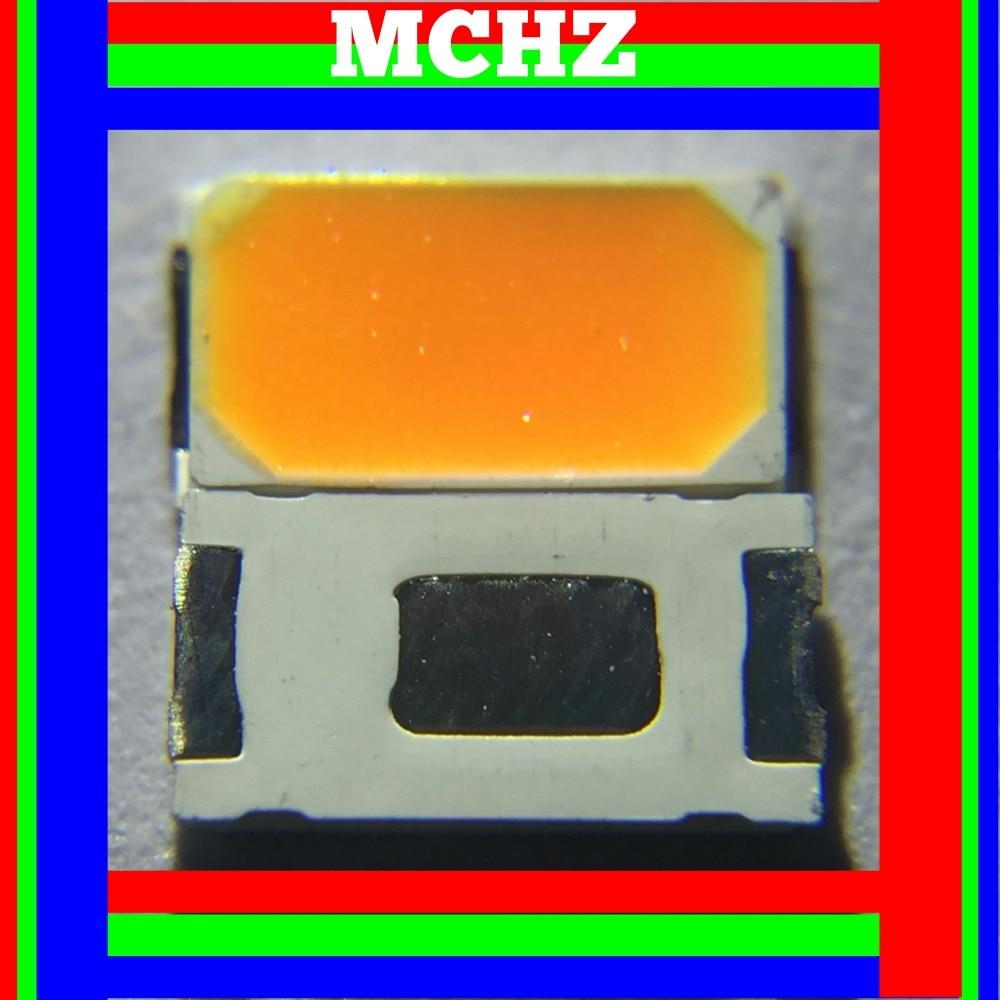 400 pièces 5630/5730 SMD/SMT ambre SMD 5730 ambre LED montage en saillie 1800 k 3.0 ~ 3.6 V Ultra Birght diode LED puce 5730 588nm